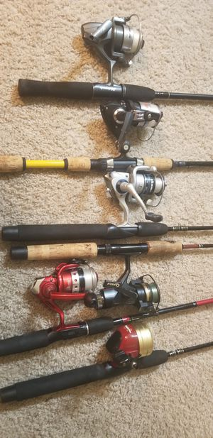 6 Nice Trout Fishing Rod & Reel Combos for Sale in Everett, WA
