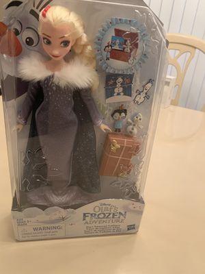 $30 Olaf's Frozen Adventure Elsa for Sale in Miami, FL