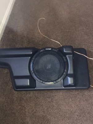 """Kicker 10"""" comp speaker with box for Sale in Washington, DC"""