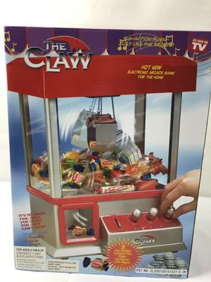 The Claw Electronic Arcade Game Candy Crane Grab for Sale in Kennesaw, GA