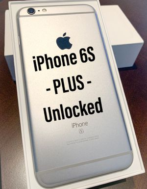 iPhone 6S PLUS Unlocked for Sale in Gambrills, MD