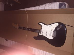 Squier Guitar and AMP by Fender for Sale in Waterbury, CT