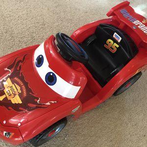 Disney Lightning McQueen Electric Car for Sale in Folsom, CA