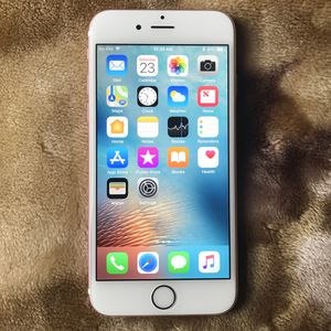 Apple IPhone 6S 16GB Factory ICloud Unlocked can be used Internationally Like New for Sale in Fairfax, VA