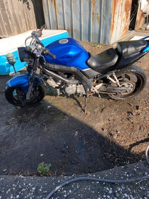 2007 Suzuki svr 650 good condition, runs great! I owe $237 registration. I'm selling it because I need to pay a lawyer for speeding tickets $100 firm for Sale in San Lorenzo, CA