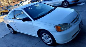 2002 Honda civic clean title Low mileage one owner for Sale in Dallas, TX