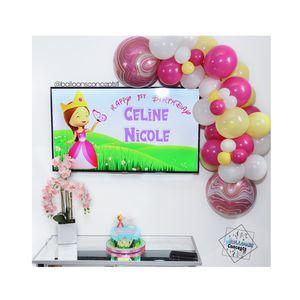Organic balloon garland/ arco de globos organico princesa Ester for Sale in Davie, FL