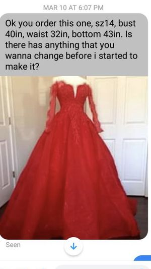Prom dress /clothing for Sale in Brooklyn, OH