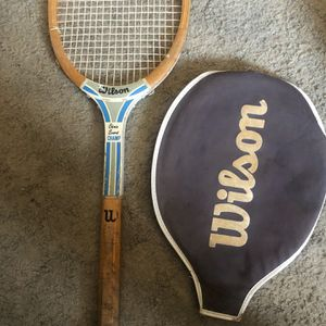 Vintage WILSON Tennis Racket for Sale in Coronado, CA