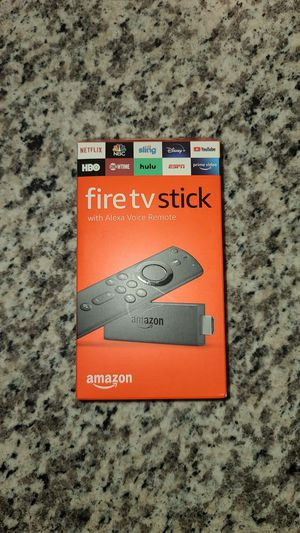 Amazon Fire TV Stick with Alexa Voice Remote 2nd Generation BRAND NEW, UNOPENED, SEALED for Sale in Owasso, OK