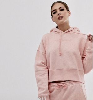 adidas ORIGINAL COEEZE CROPPED HOODIE S for Sale in Portland, OR