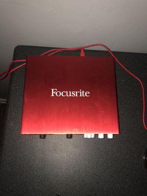 Focusrite Scarlett 8i6 USB Audio for Sale in San Gabriel, CA