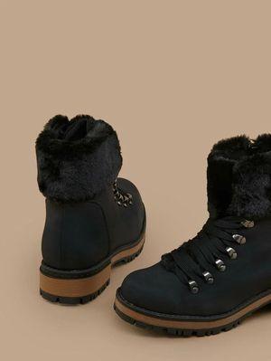 Women faux fur ankle boots for Sale in Philadelphia, PA