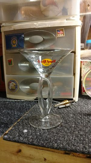 Hard Rock Cafe martiny glass for Sale in Summerville, SC