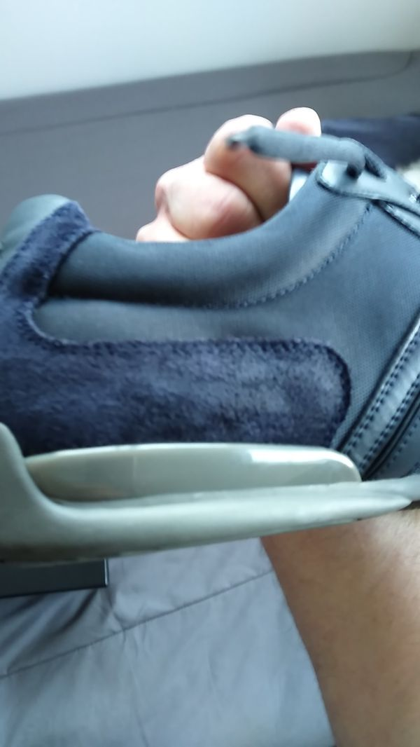 SPECIAL extended until Tomorrow! (NIB) BOSS BY HUGO BOSS DARK BLUE and BLACK, LEATHER AND SUEDE (Men's size 11) DRESSY ATHLETIC SHOES