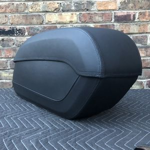 08L56-MFY-100A Honda saddlebags motorcycle Valkyrie mirrors hard black leather for Sale in Cicero, IL