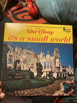 Walt Disney vinyl booklet for Sale in Stockton, CA