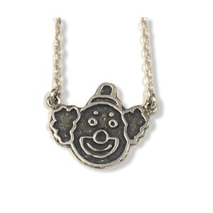 Clown Silver Necklace for Sale in Los Angeles, CA