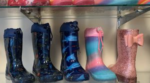 Rain boots for kids sizes available boys and girls for Sale in Bell, CA