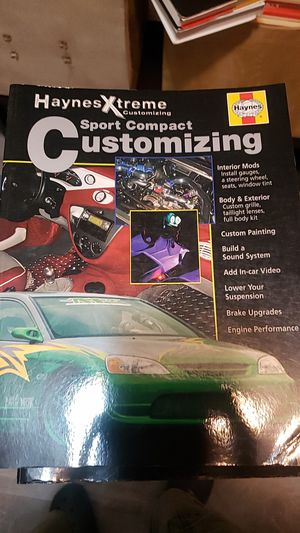 Haynes sport compact customizing for Sale in Newark, NJ