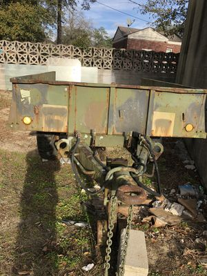 Military trailer heavy duty for Sale in Columbia, SC