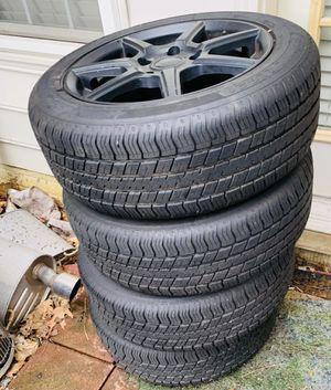 Tires + Rims LIKE NEW for Sale in Alexandria, VA