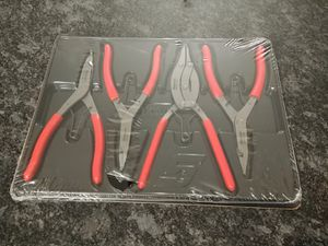Snap-on Tools 4 piece Transmission snap ring Pliers set for Sale in Romeoville, IL