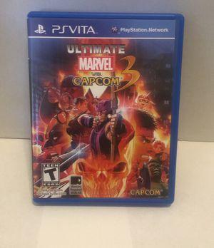 Ultimate Marvel vs Capcom 3 PS Vita for Sale in Los Angeles, CA