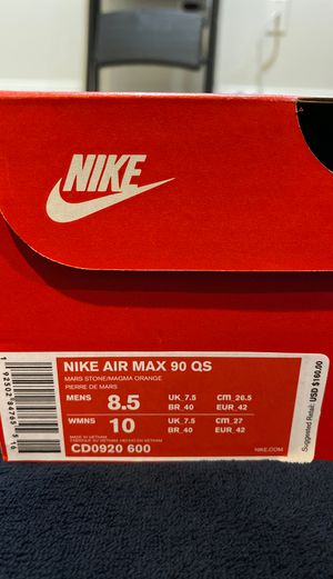 Air Max 90 Mars Landing sz 8.5 for Sale in Gaithersburg, MD
