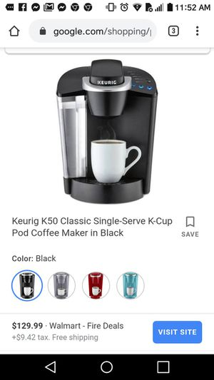 New Keurig k50 can include refill cups for Sale in Taylorsville, UT