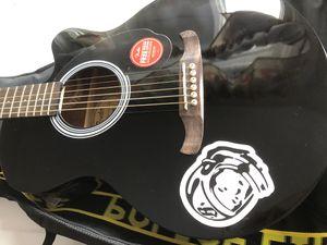 Fender Acoustic-Electric Guitar Black for Sale in Oakland, CA