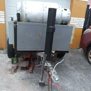 15000 W Onan Propane Generator On a trailer for Sale in Hollywood, FL