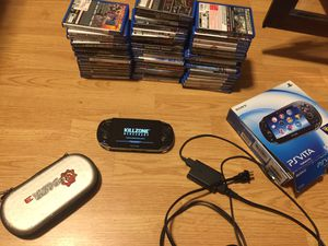 Ps vita + 47 games for Sale in Queens, NY
