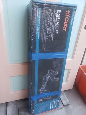 Curt Class 3- Multi-fit Trailer Hitch- new open box for Sale in South Gate, CA