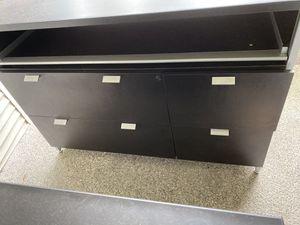 Black sturdy dresser for Sale in Everett, WA
