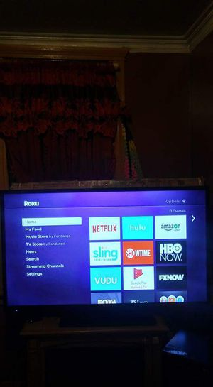 "55""SEIKI ROKU SMART TV for Sale in Chicago, IL"