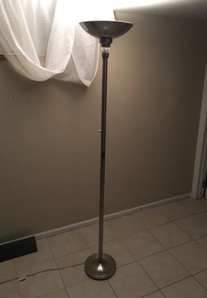 Tall floor lamp with dimmer switch for Sale in Saint Charles, MO