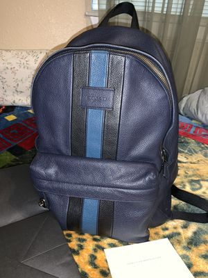 Men's Authentic Coach New York backpack for Sale in San Antonio, TX