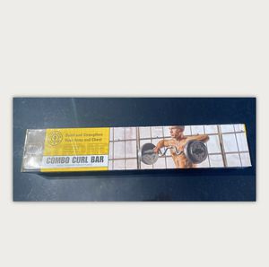 Golds Gym Combo Curl Bar for Sale in Visalia, CA