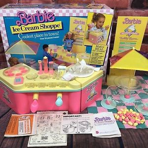 Vintage 1987 Barbie Ice Cream parlor Mint collector item in Box for Sale in Burtonsville, MD