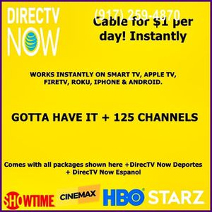cable TV right now for Sale in New York, NY