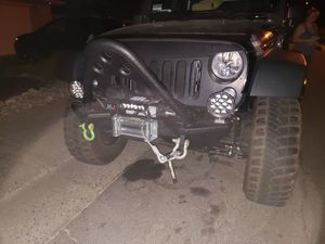 2017 jeep wrangler bumper with stinger for Sale in Roseville, CA