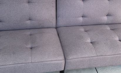 Grey Fabric Futon for Sale in Baytown,  TX