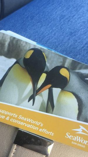 4 SeAWorld tickets for Sale in San Diego, CA
