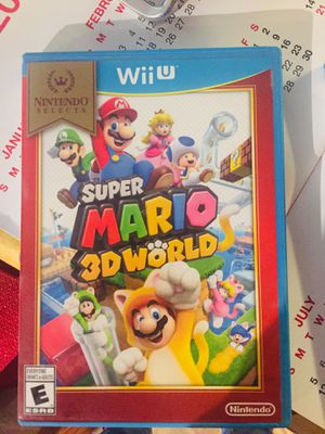 Mario Wii U games for Sale in Phoenix, AZ