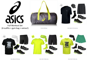 Asics Gym Duffle + 4 Workout Outfits + Matching Dopp Bag (FULL SET) for Sale in Miami, FL