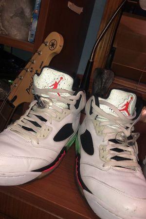 Jordan 5 posion green size 10 1/2 for Sale in Jupiter, FL