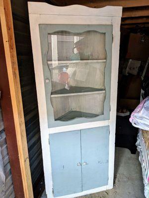 Antique corner cabinet for Sale in Ashburn, VA