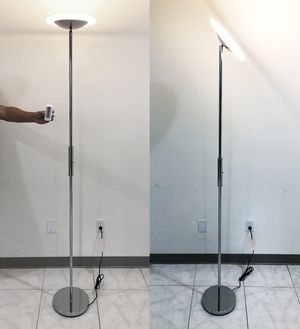 New $40 LED 6' Tall Floor Lamp w/ Wireless Remote Light Dimmable & Tilt Left/Right for Sale in Whittier, CA