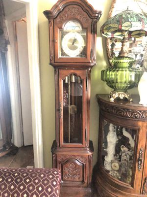 Antique grandfather clock for Sale in Ontario, CA